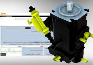 Bombas hidrostáticasinteligentes, sensores conectados a um sistema exclusivo